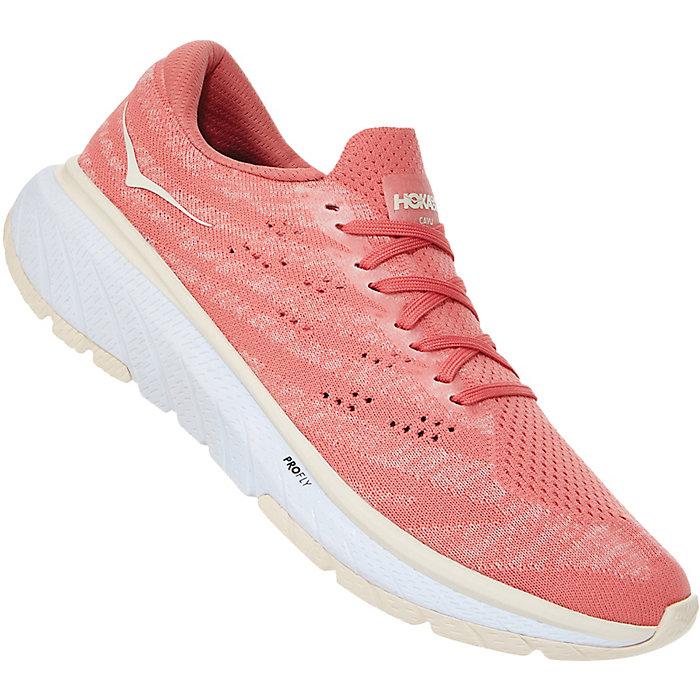 Hoka One One Women's Cavu 3 Running Shoe (Lantana/Eggnog)