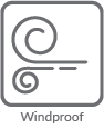 Windproof Materials and Construction