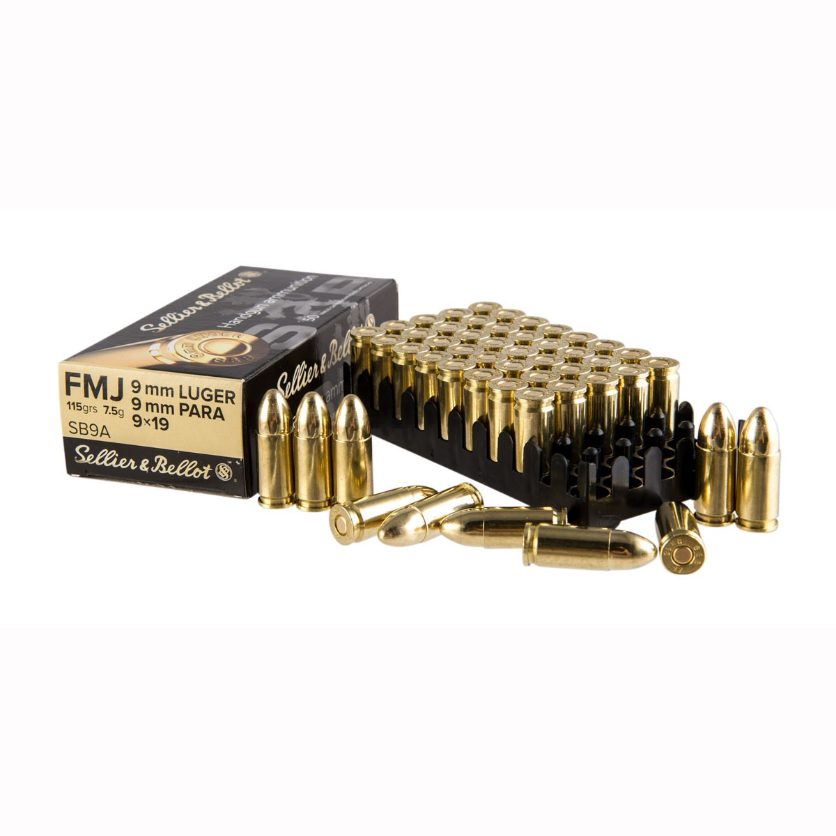 S&B 9mm Luger 124gr Full Metal Jacket 1,000/Case at $218.99 (21.9cpr) also $20 off with code WC2