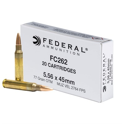 Federal Lake City Ammo- NATO 77-GR