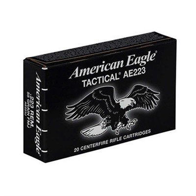 FEDERAL - AMERICAN EAGLE TACTICAL AMMO 223 REMINGTON 55GR FMJ-BT