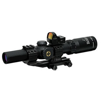 Burris MTAC 1-4x24mm Scope with Fastfire III Reflex Red Dot Sight