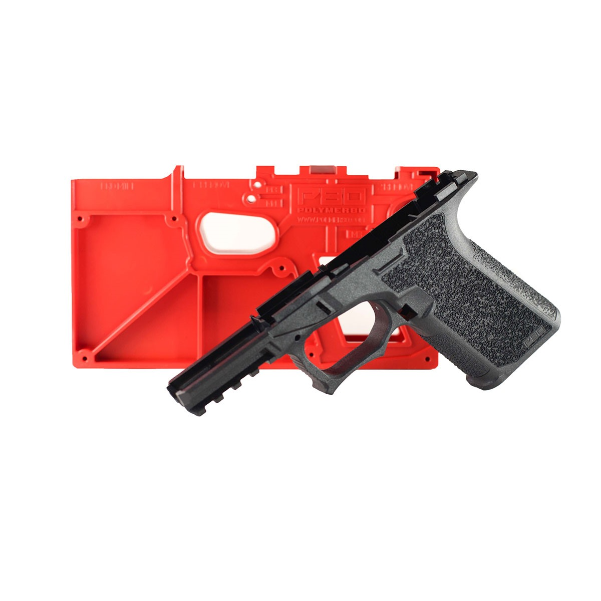POLYMER80 - PF940Cv1 80% FRAME TEXTURED FOR GLOCK® 19/23/32