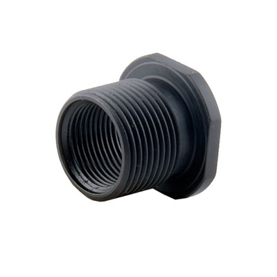 Thread adapter 1/2-28 to 5/8-24 black