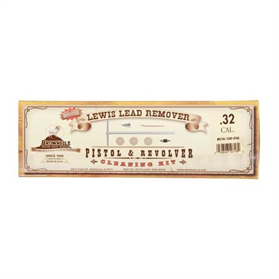 Lewis lead remover 9mm, 38/357 caliber adapter kit