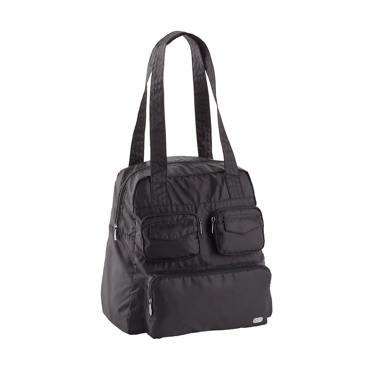 Black Collapsible Weekend Bag