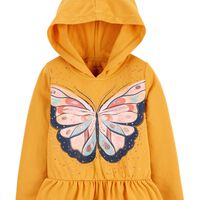 Deals on Carters Toddler Butterfly Hooded Jersey Tee