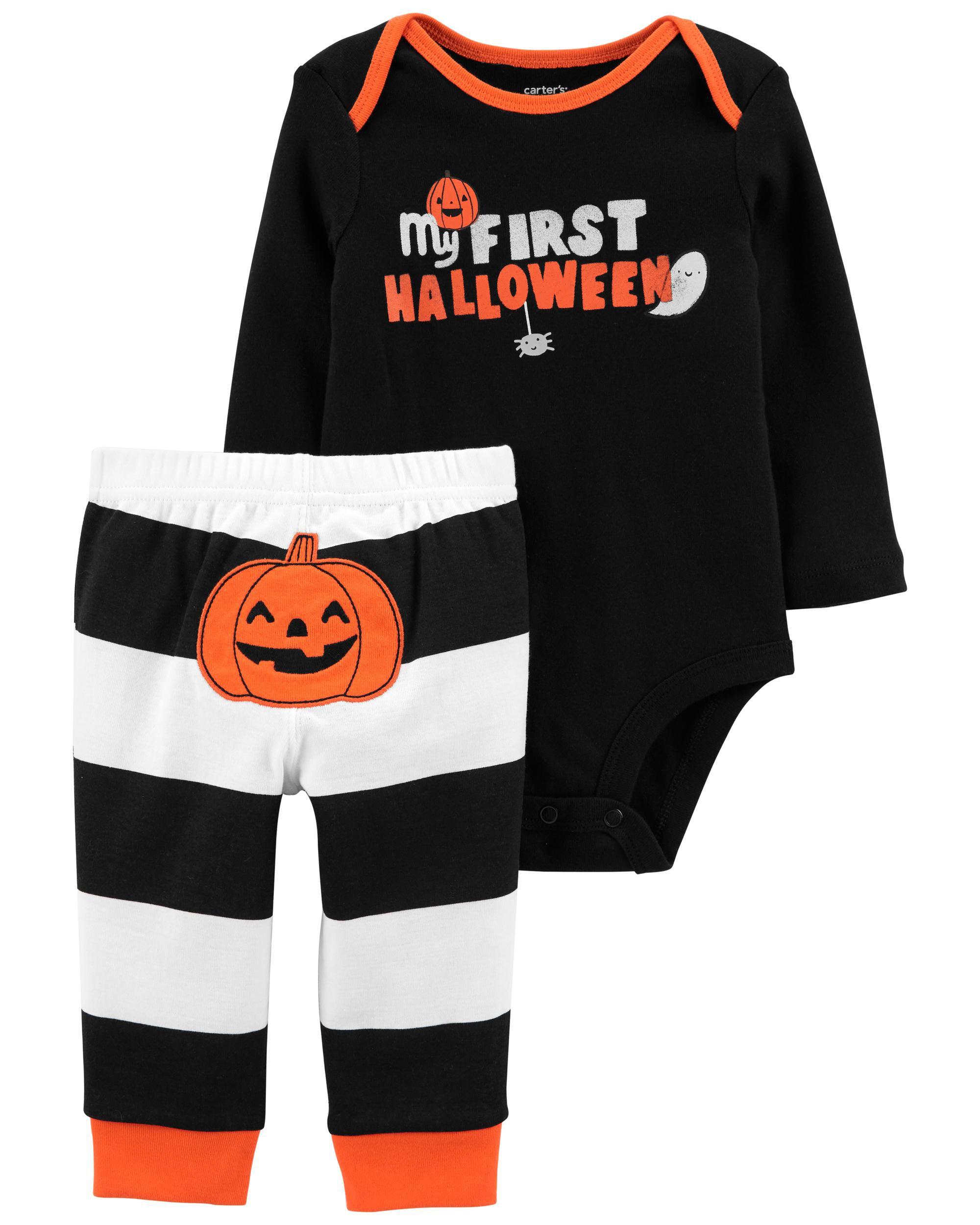 Carters 2-Piece Halloween Bodysuit Pant Set