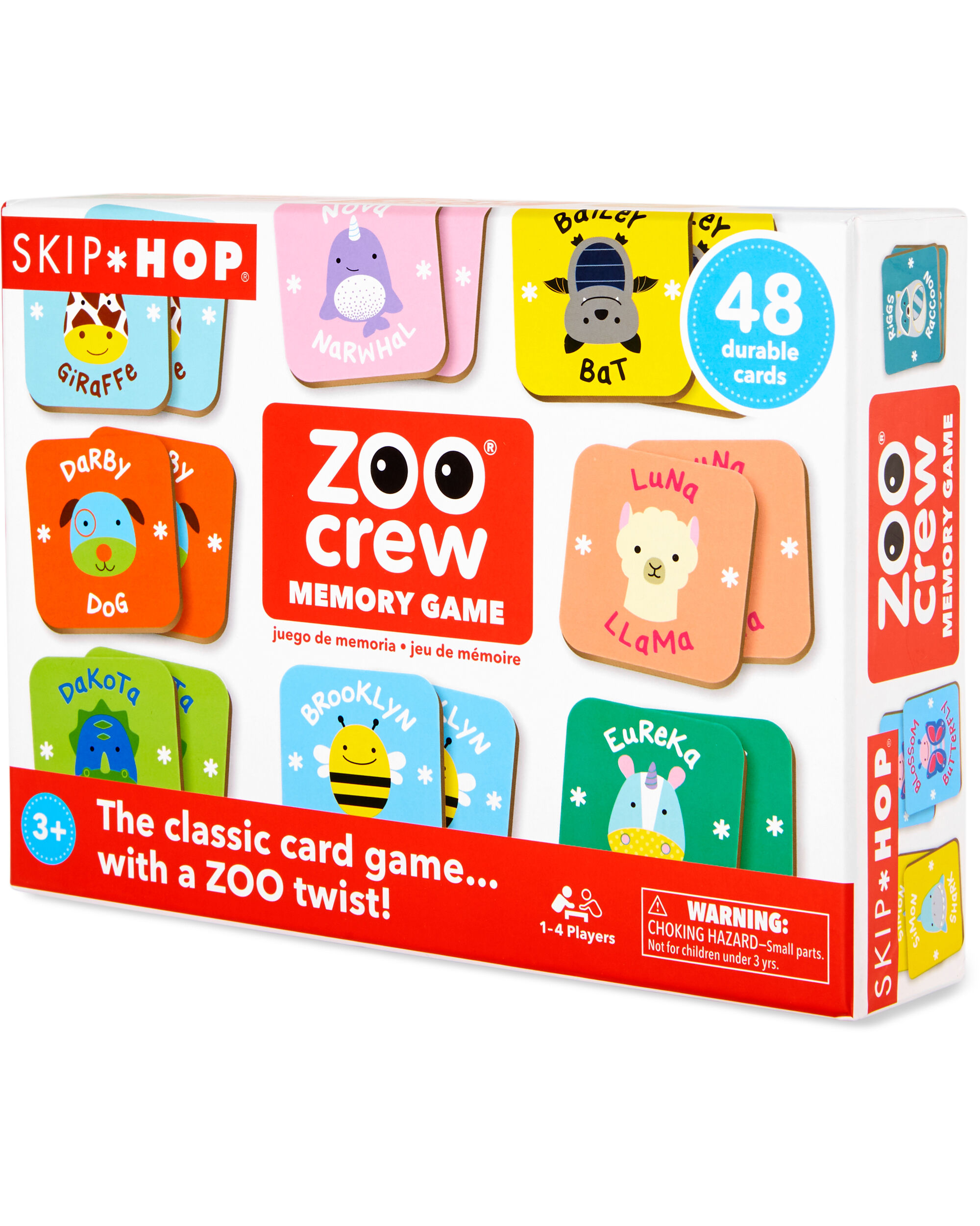 Carters Zoo Crew Memory Game