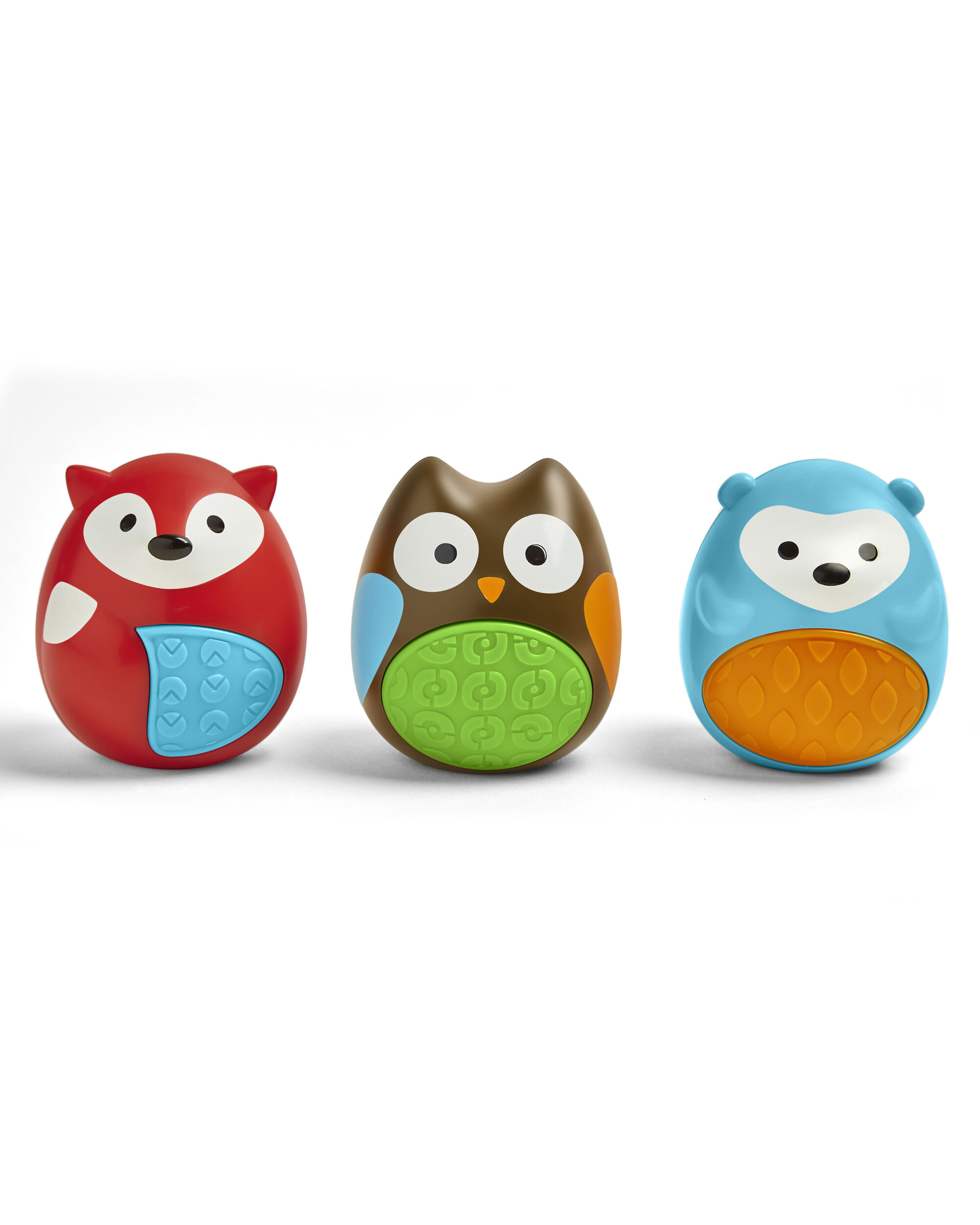Carters Explore & More Egg Shaker Baby Toy Trio