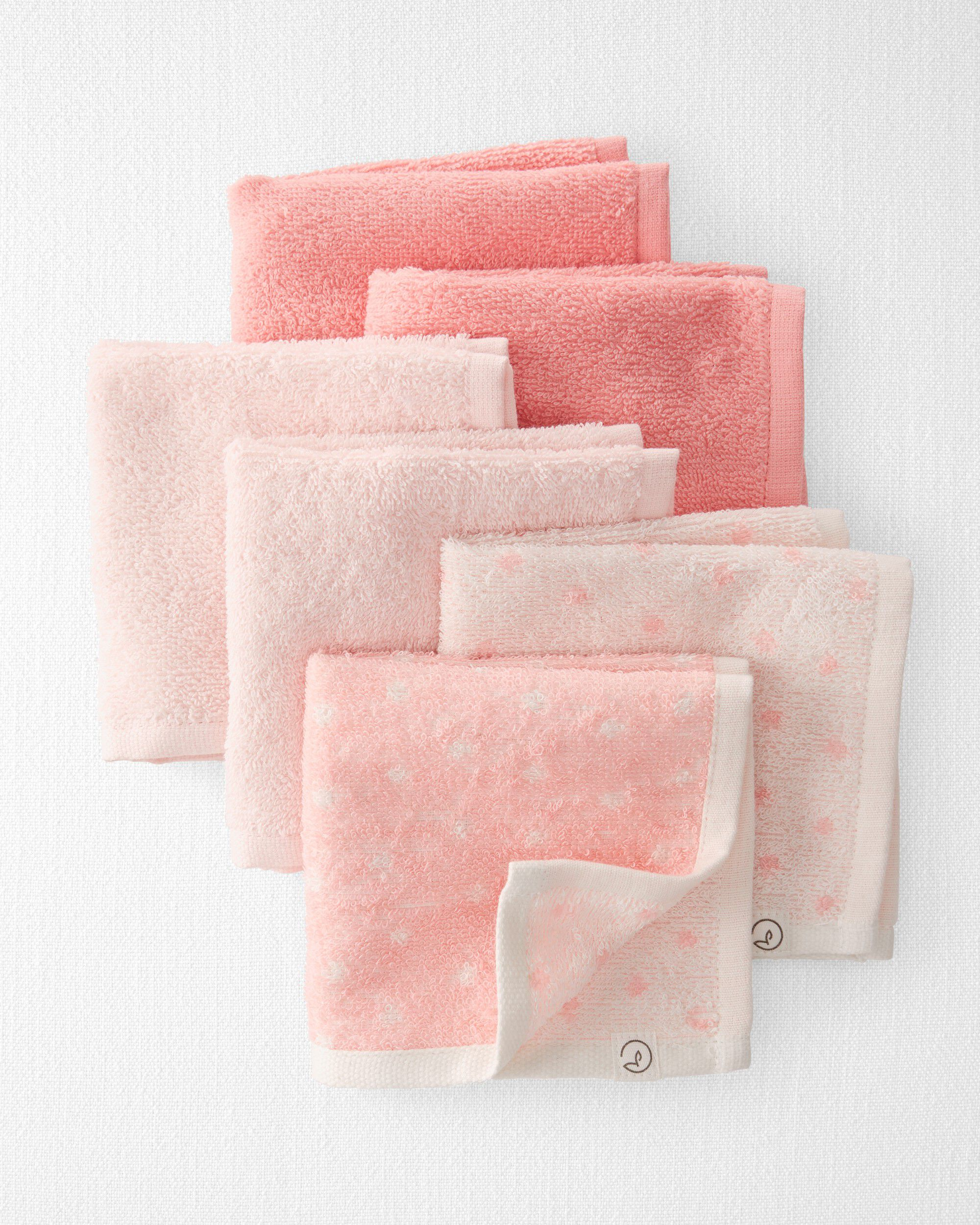 Carters 6-Pack Organic Cotton Wash Cloths