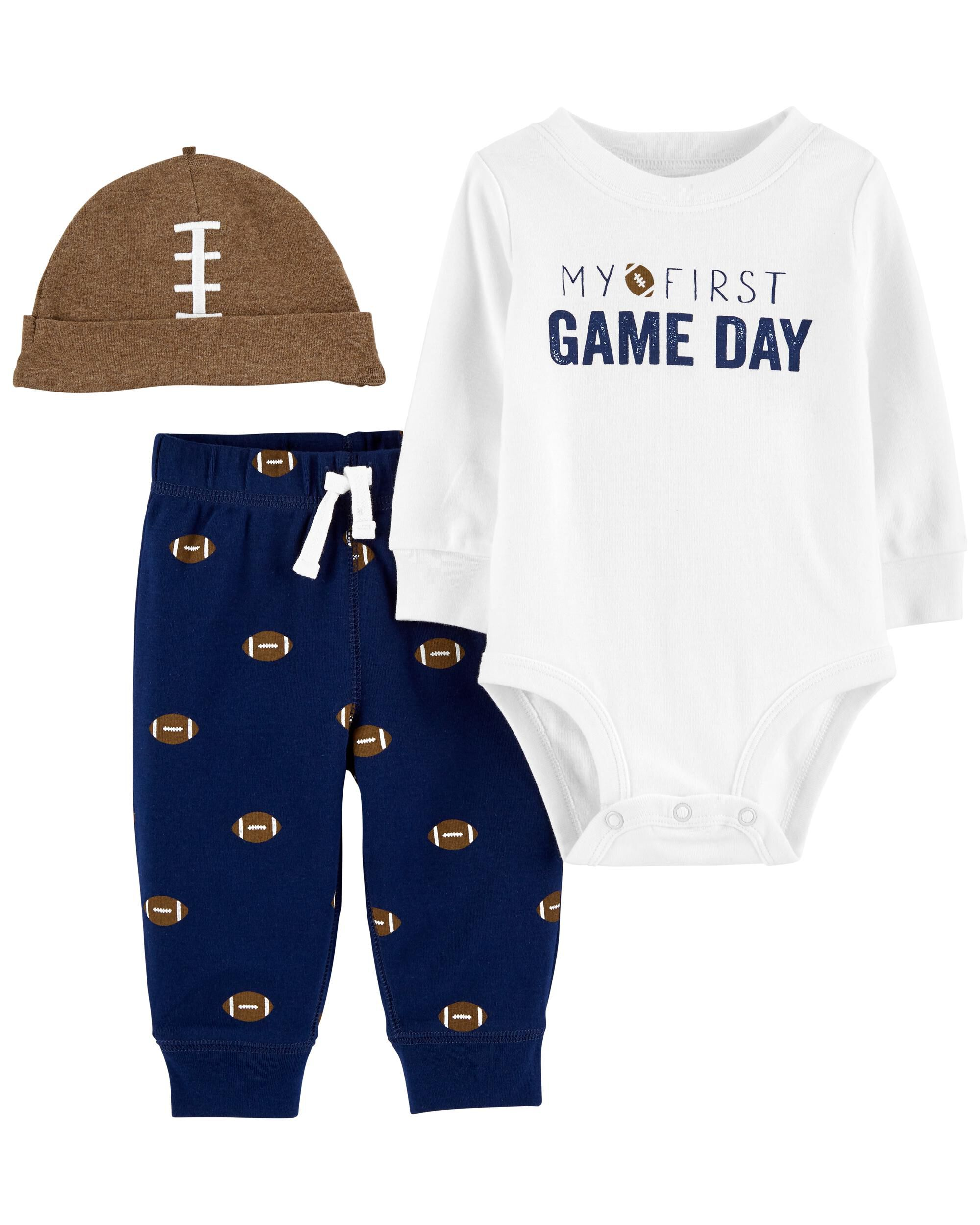 Carters 3-Piece Football Outfit Set