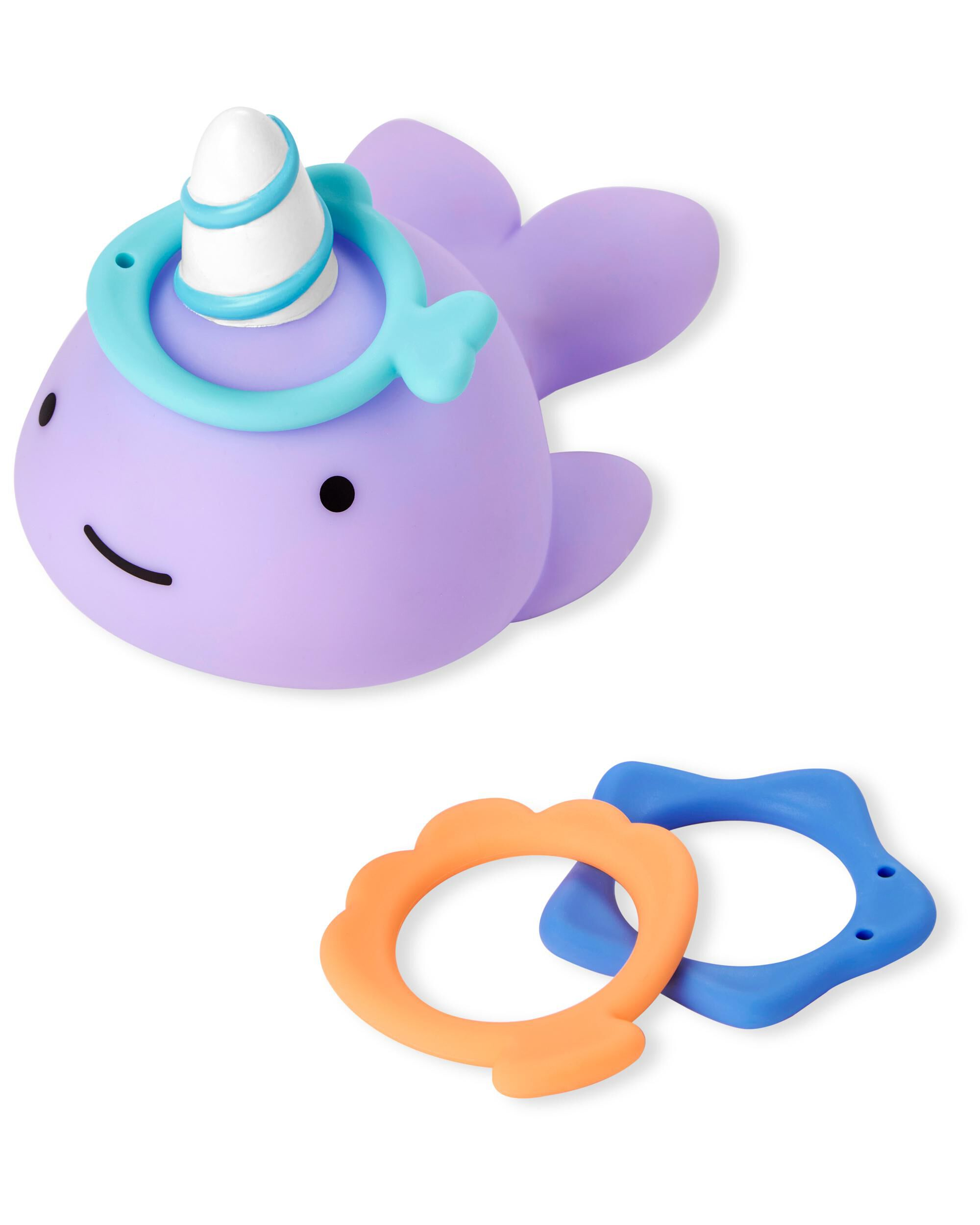 Carters ZOO Narwhal Ring Toss