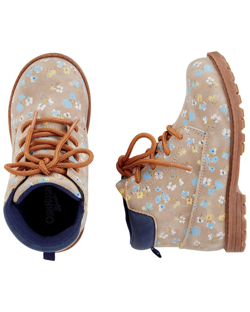 .50 Floral Boots + Free shipping over  at Carter's!