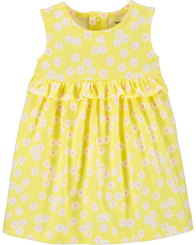 Floral Jersey Dress, , hi-res