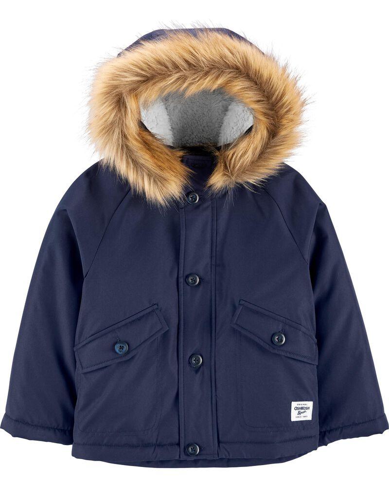 OshKosh B'gosh Colorblock 4-In-1 Jacket; Courtesy of Carter's