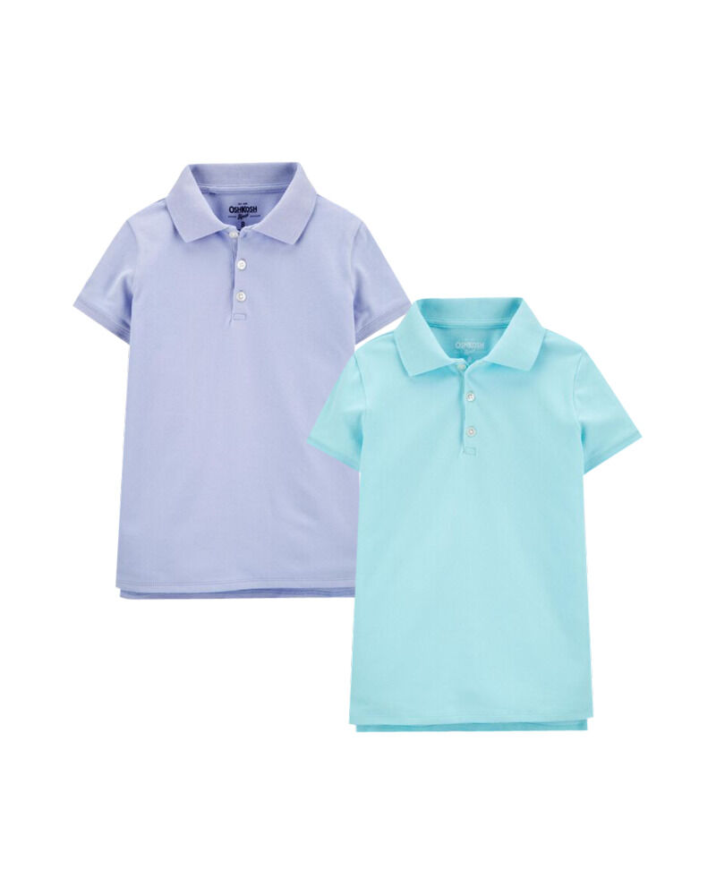 Carters 2-Pack Pique Polos