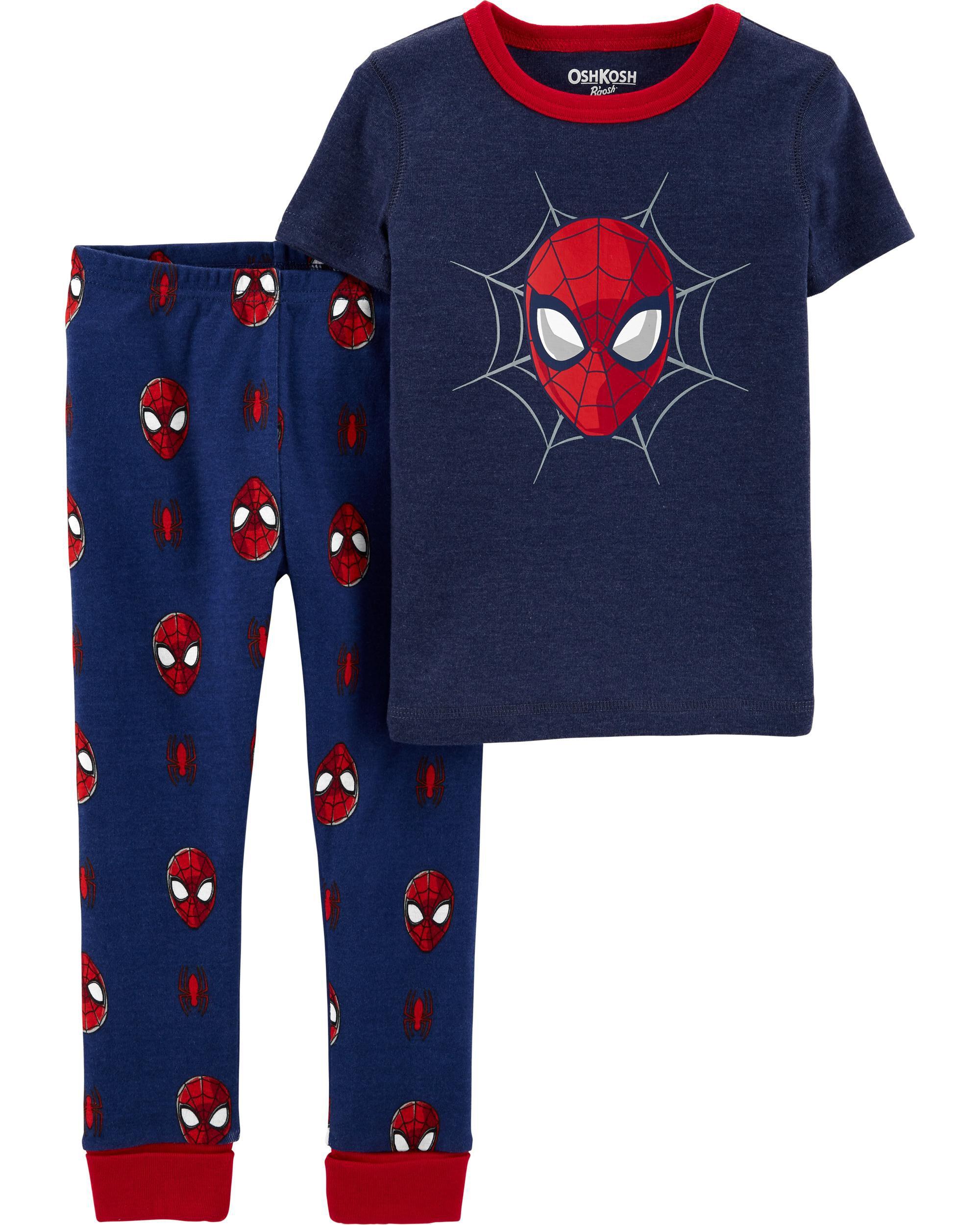Carters 2-Piece Spider-Man 100% Snug Fit Cotton PJs