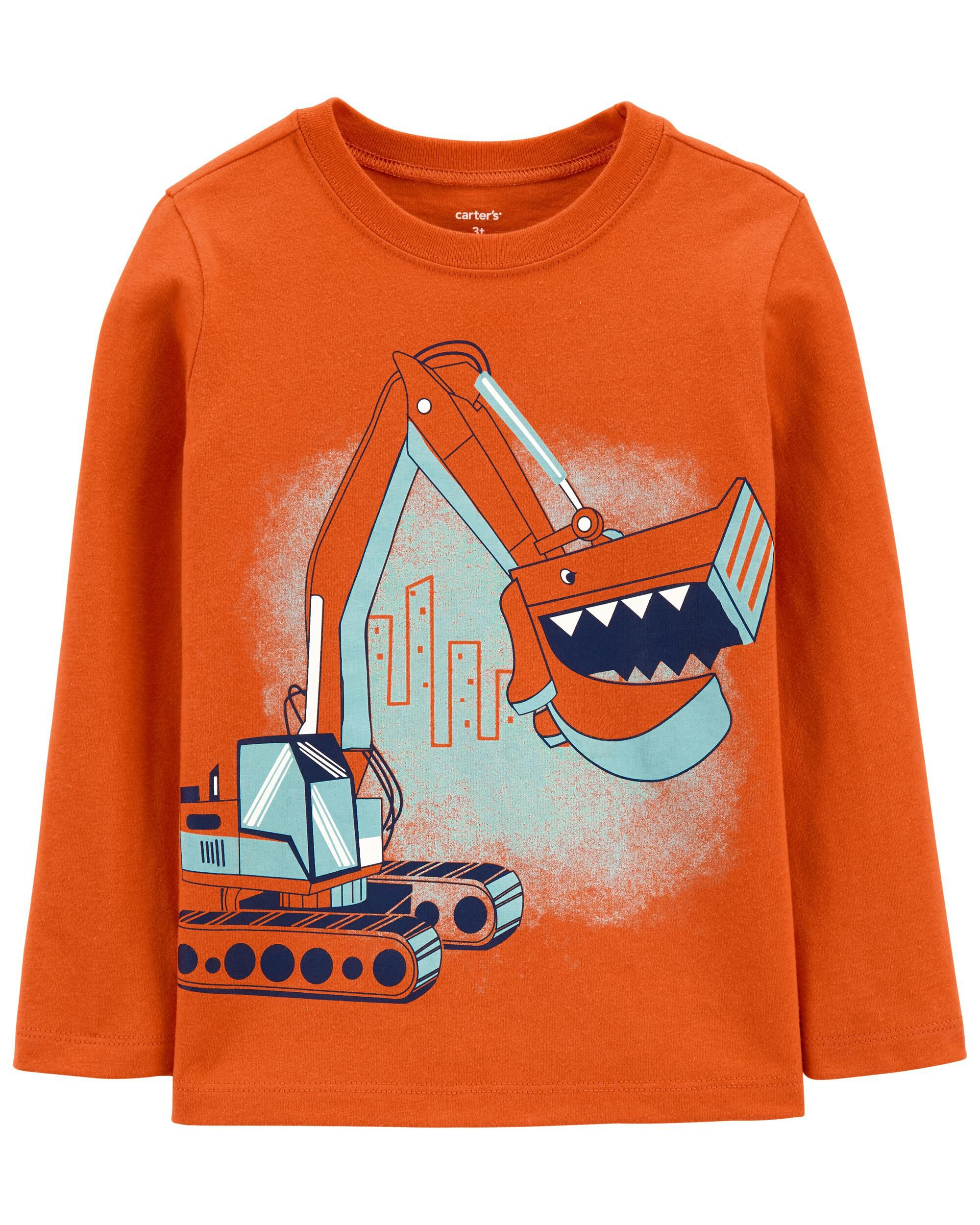 Carters Construction Jersey Tee