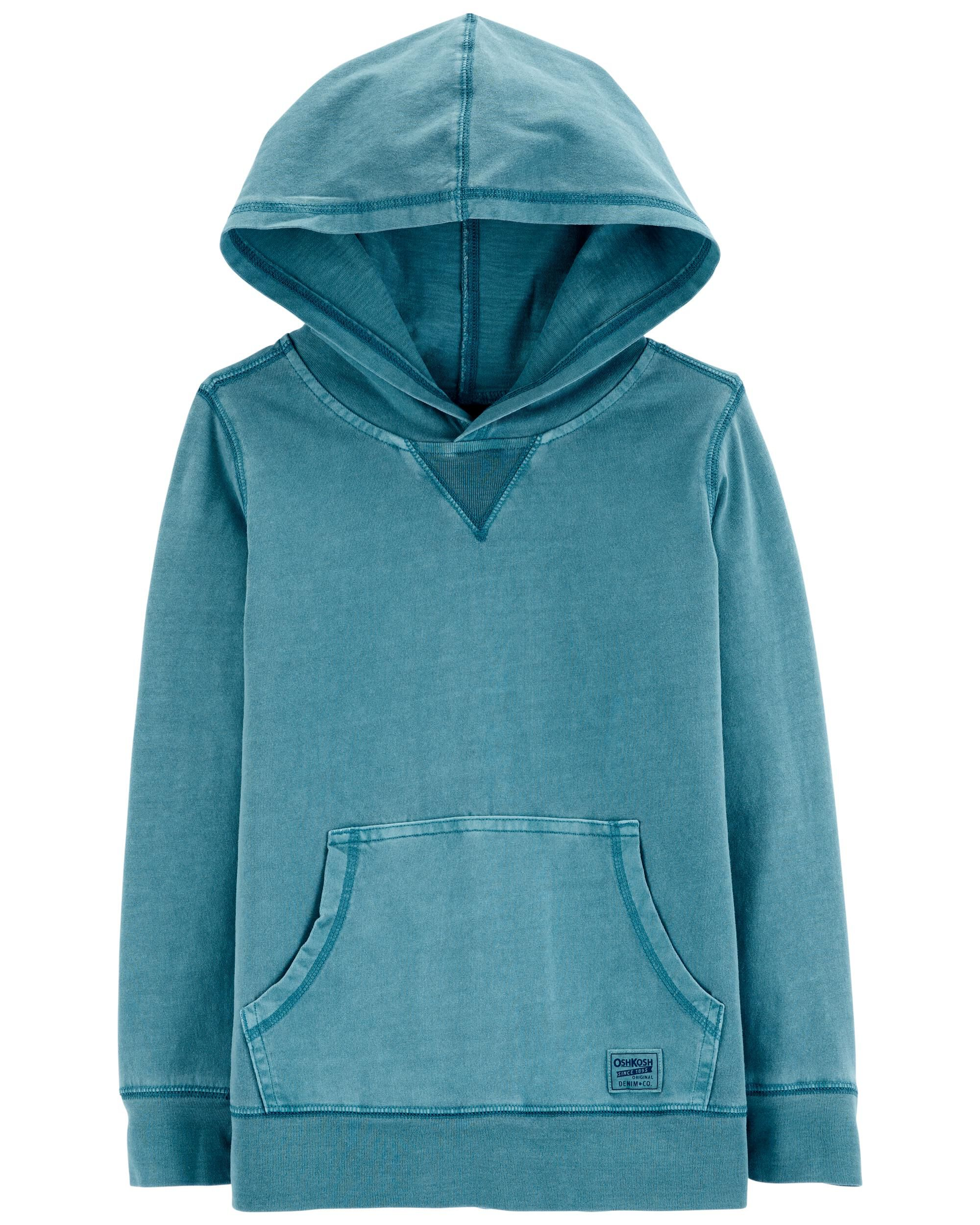 Carters Garment-Dyed Jersey Hoodie