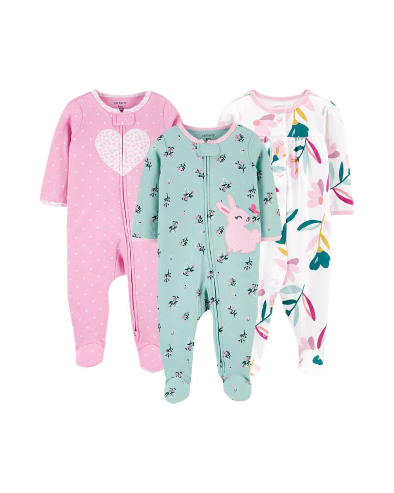 Carters 3-Pack Cotton Sleep & Plays