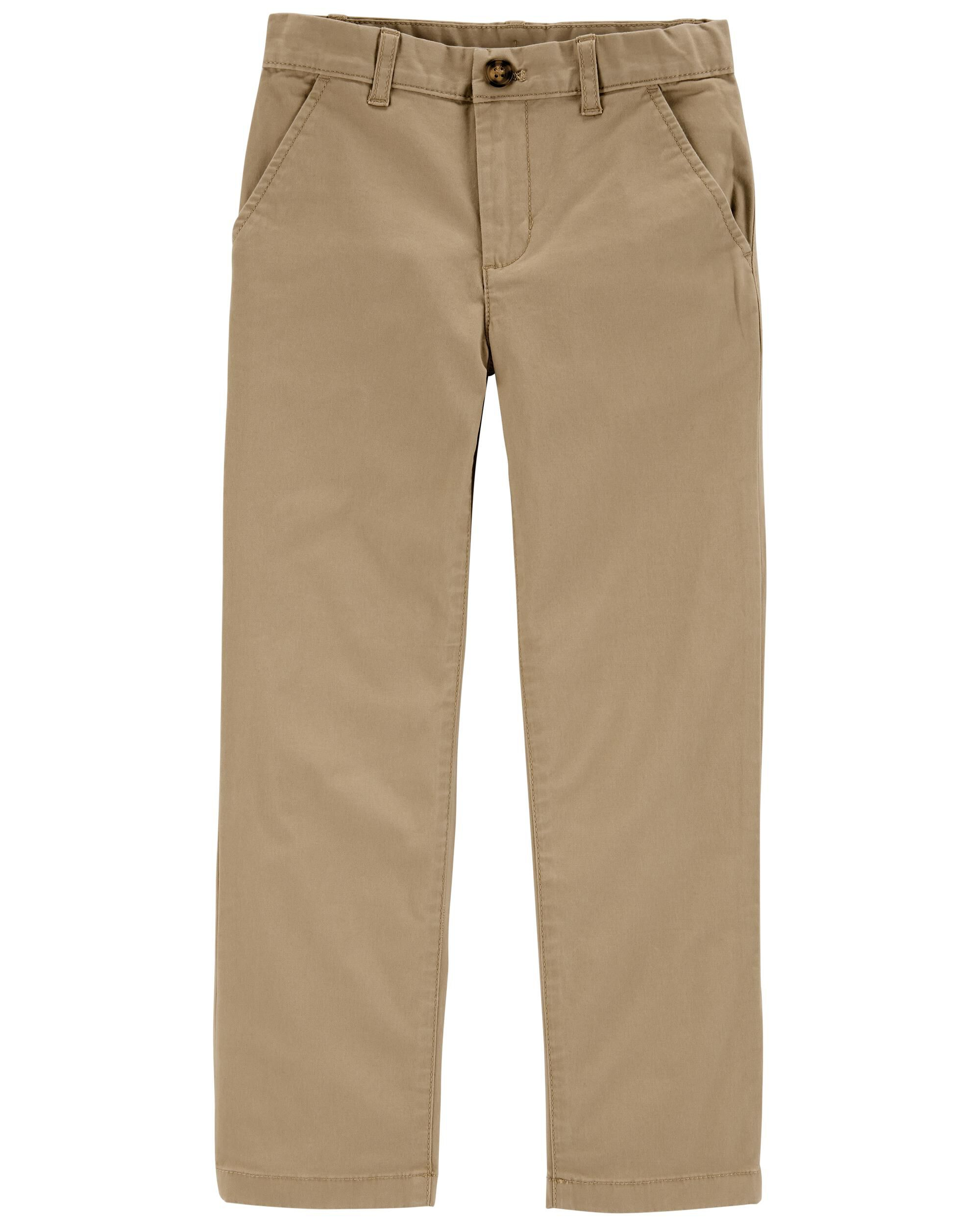 Carters Flat-Front Chino Pants