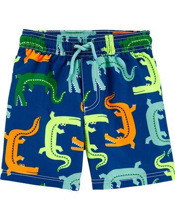 Carter's Alligator Swim Trunks