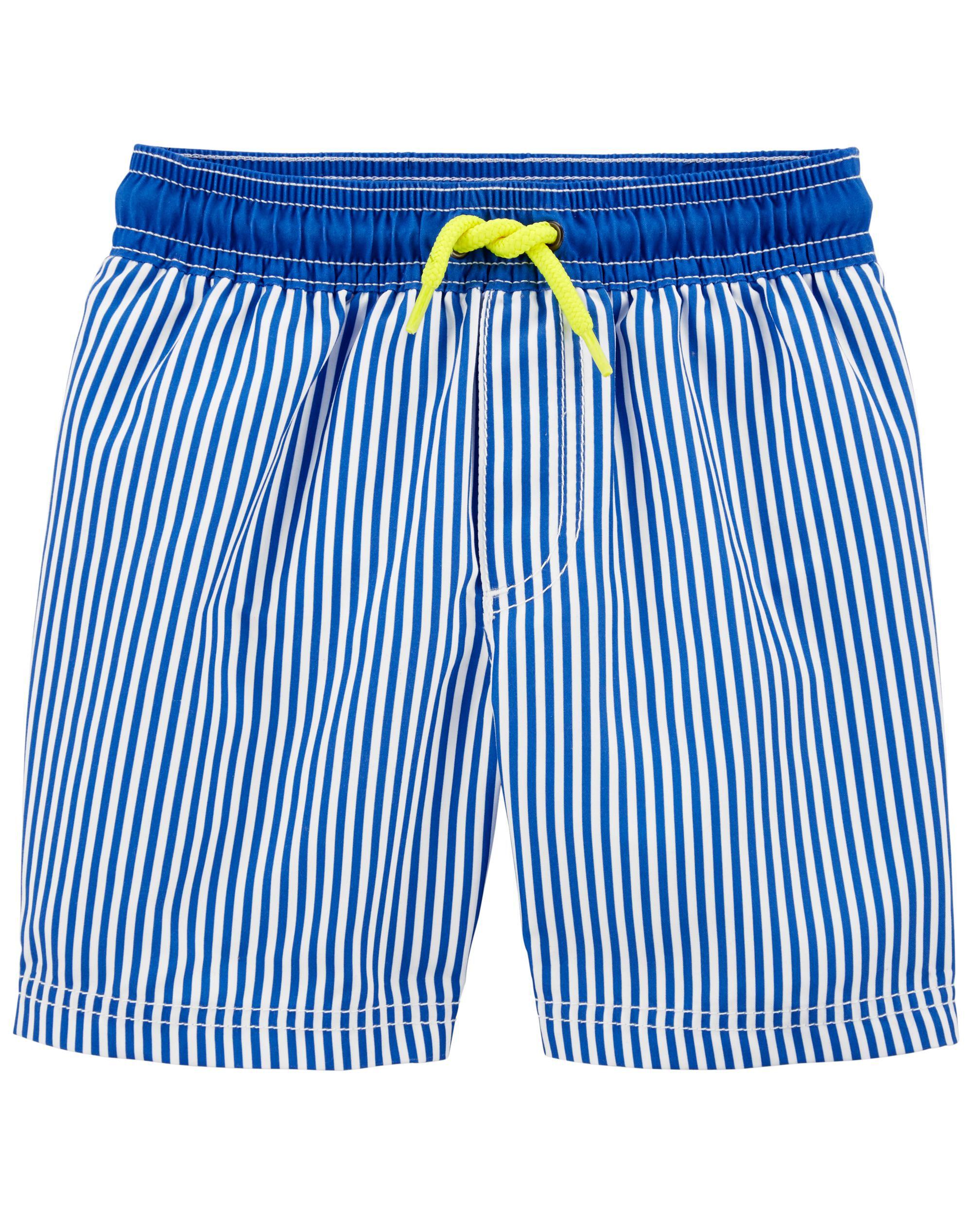 Carters Striped Swim Trunks
