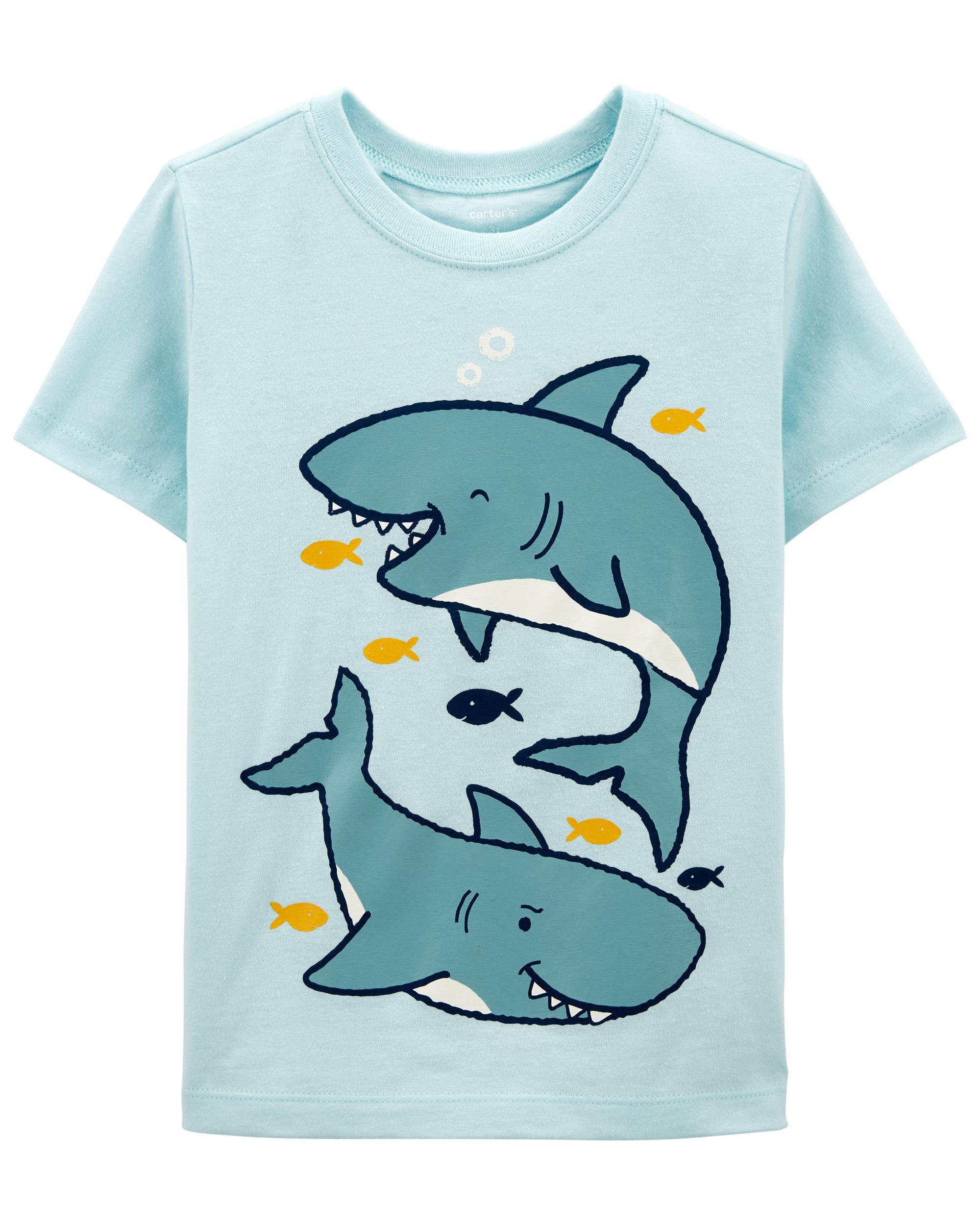 Carters Sharks Jersey Tee