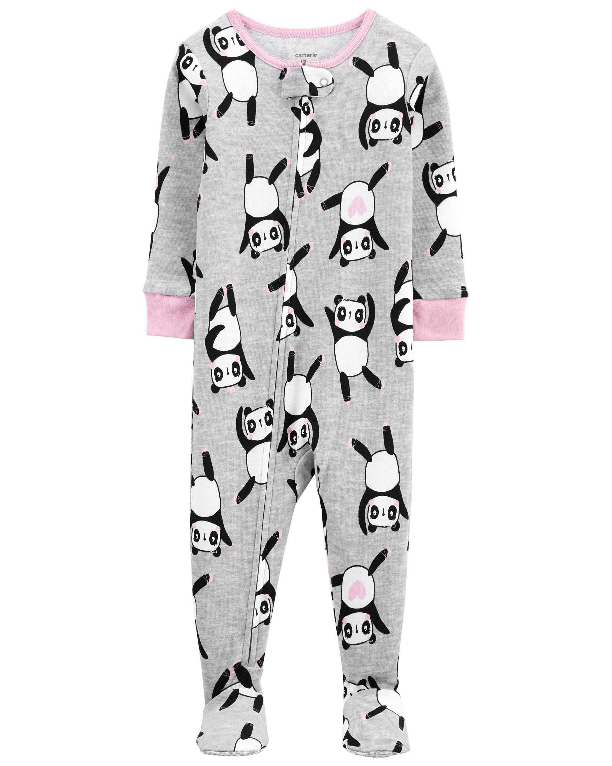 Carters 1-Piece Panda 100% Snug Fit Cotton Footie PJs
