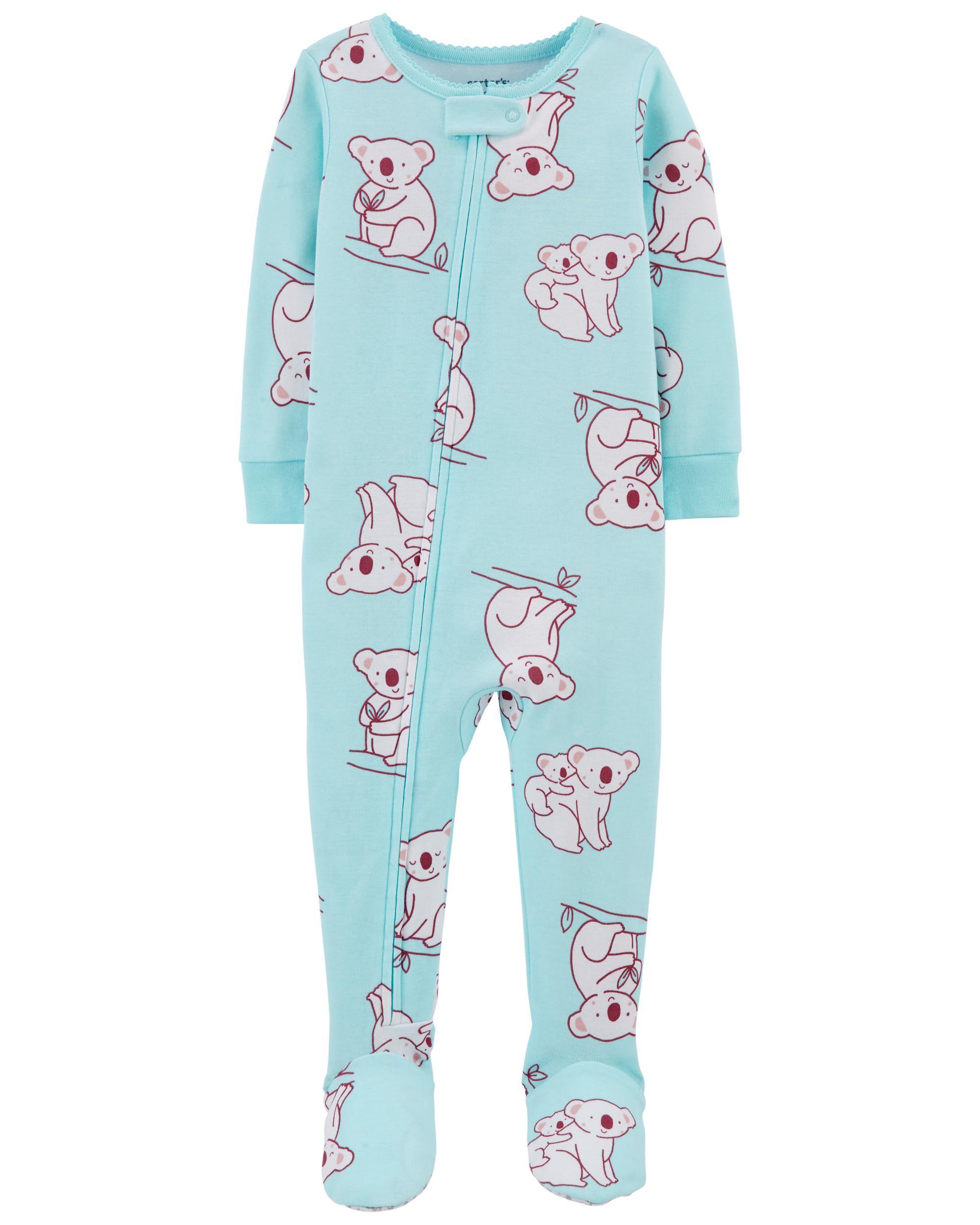 Carters 1-Piece Koala 100% Snug Fit Cotton Footie PJs