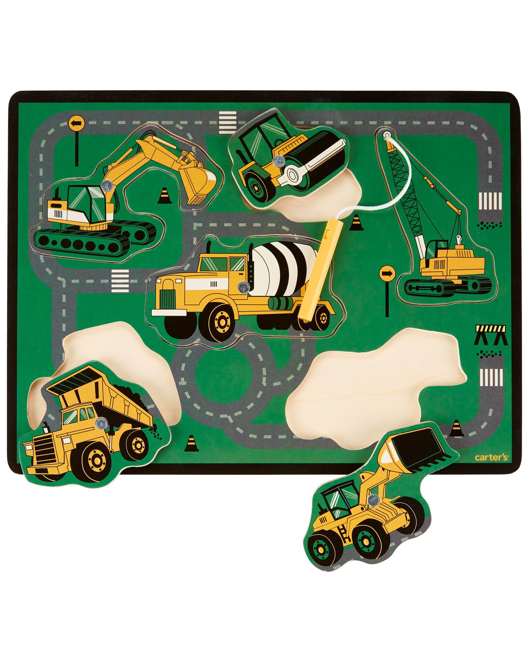 Carters Wooden Construction Puzzle