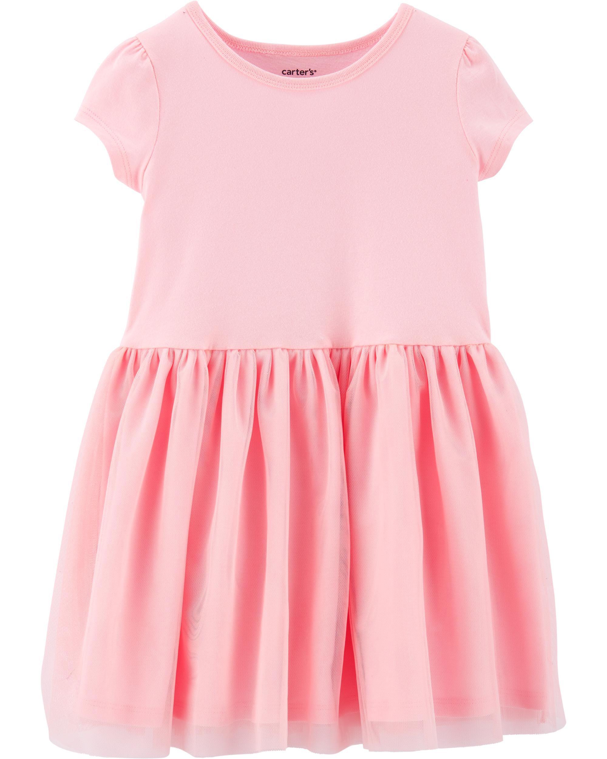 Carters Tutu Jersey Dress