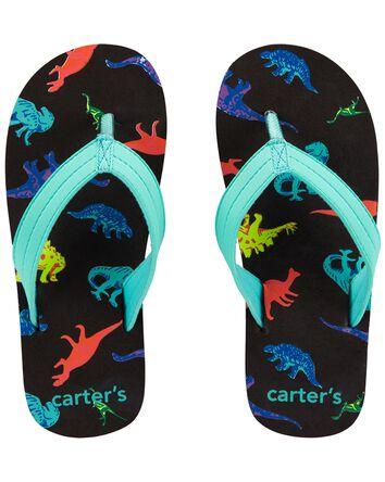 Carter's Dinosaur Flip Flops
