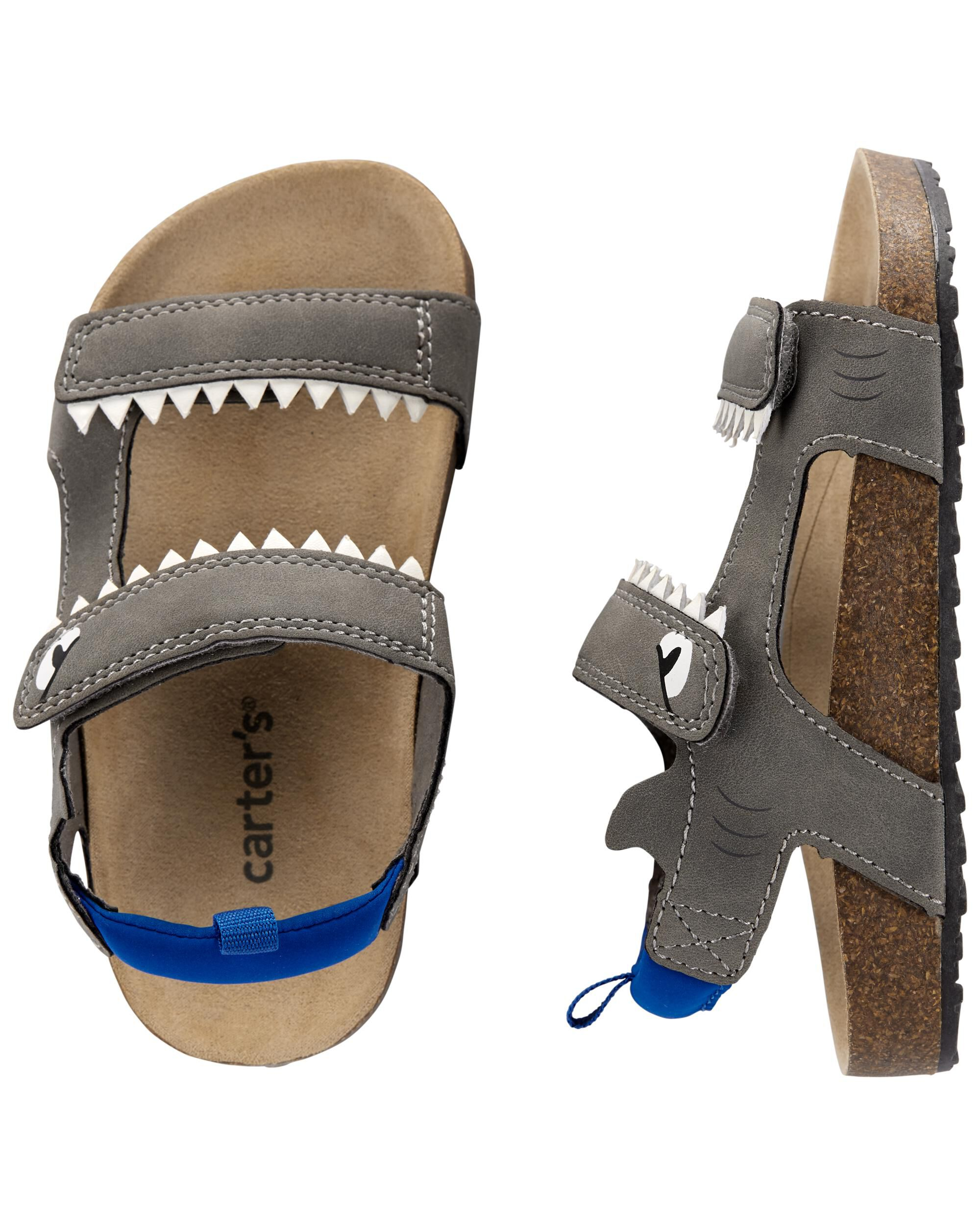 Carters Shark Play Sandals