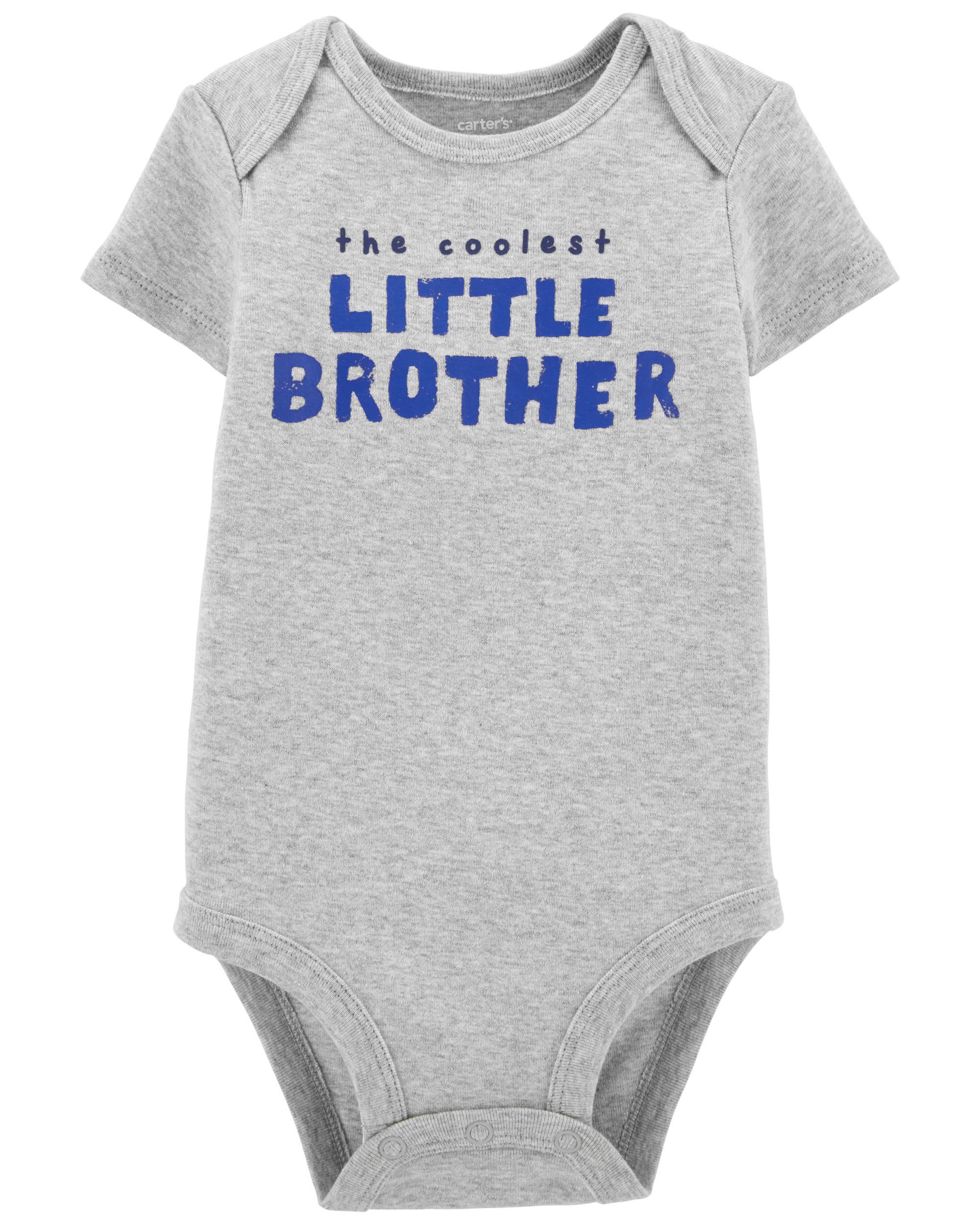 Carters Lil Bro Original Bodysuit