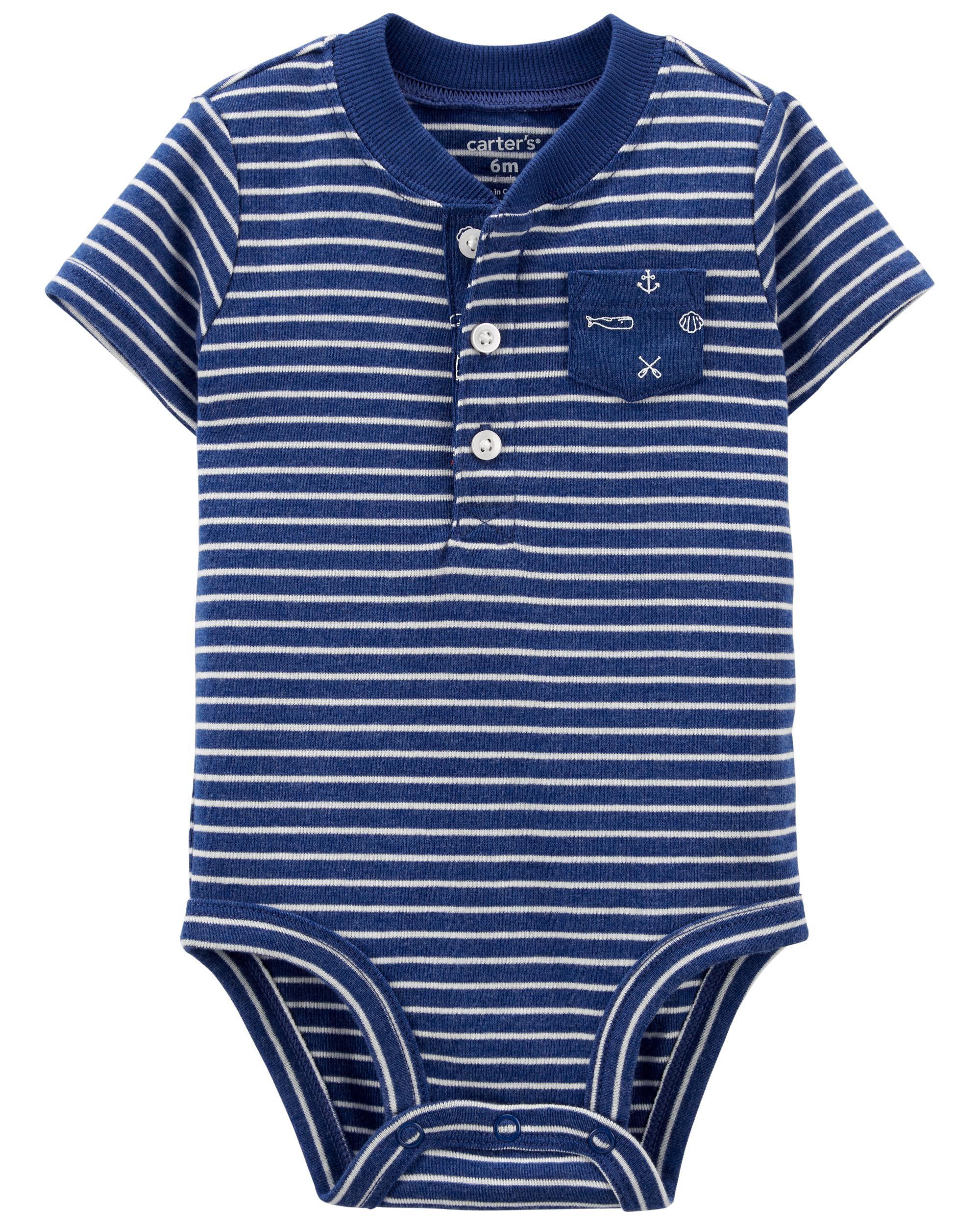 Carters Striped Original Bodysuit