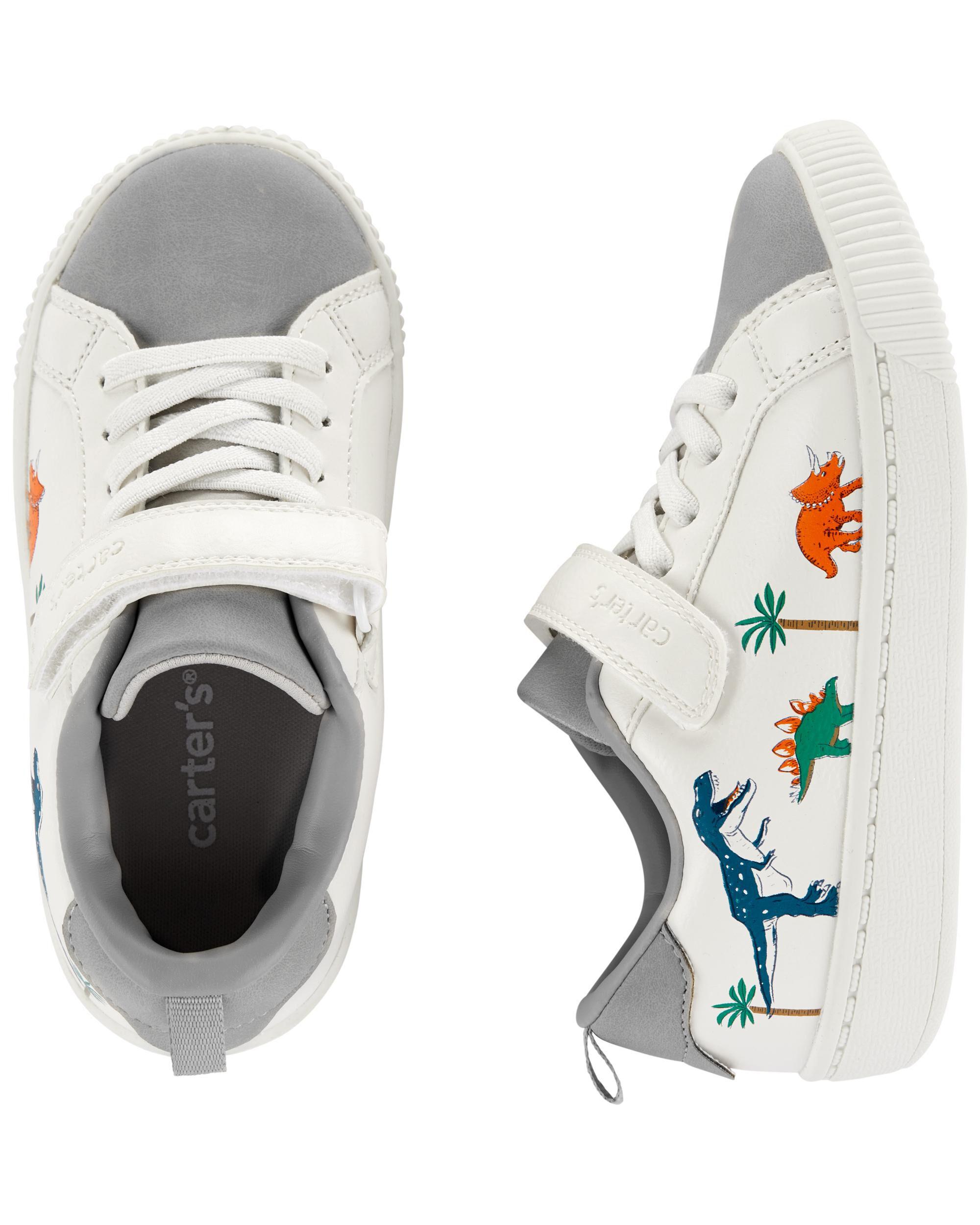 Carters Dinosaur Sneakers