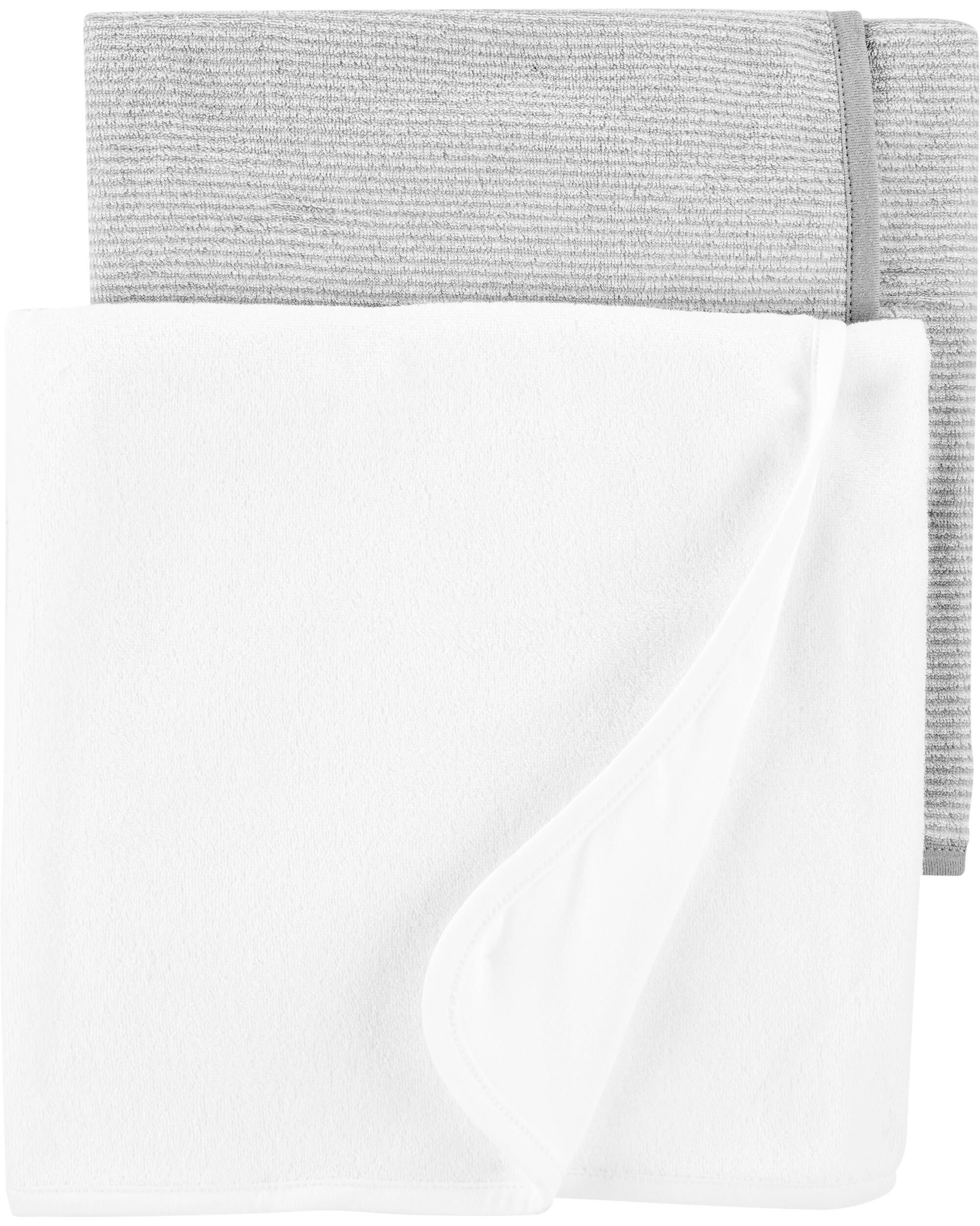 Carters 2-Pack Baby Towels