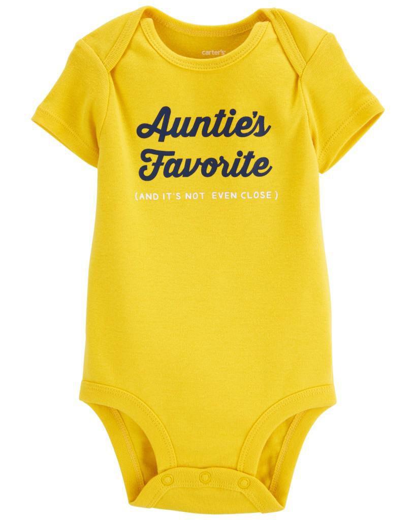 Carters Aunties Favorite Original Bodysuit