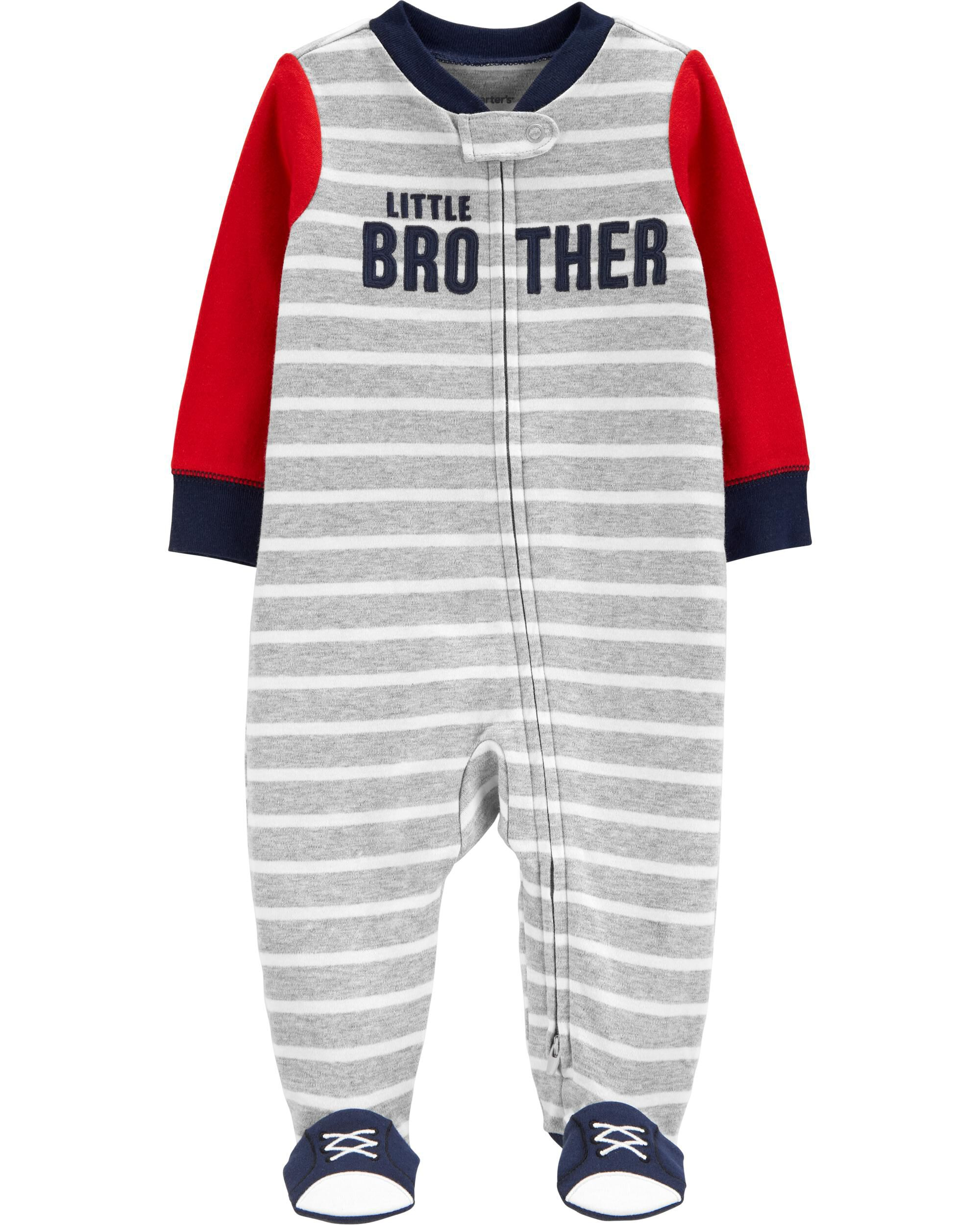 Carters Little Brother 2-Way Zip Sleep & Play