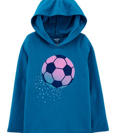 Carters Hooded Soccer Jersey Tee