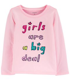 Girls Are A Big Deal Jersey Tee