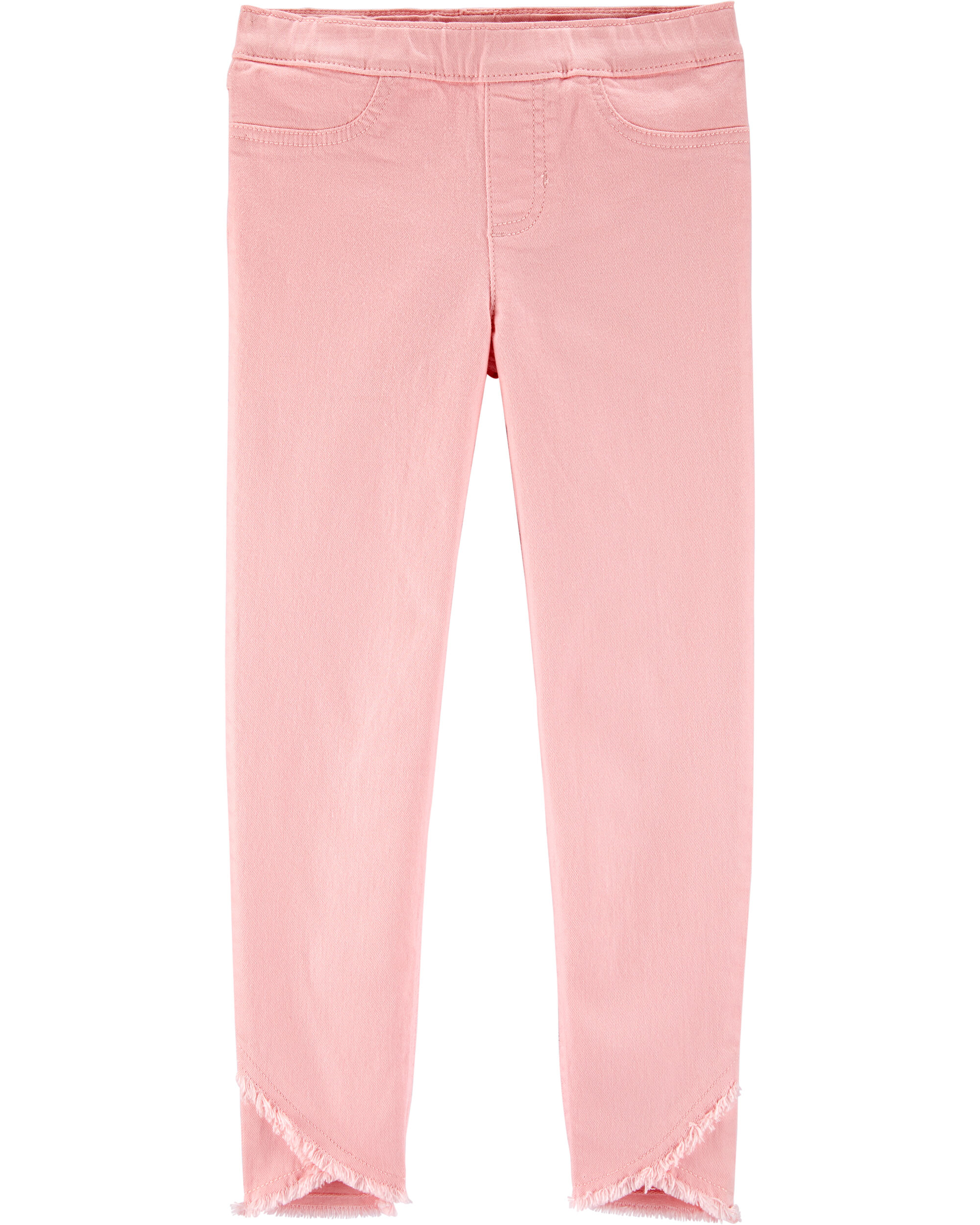 *Clearance*  Pull-On Frayed Jeggings