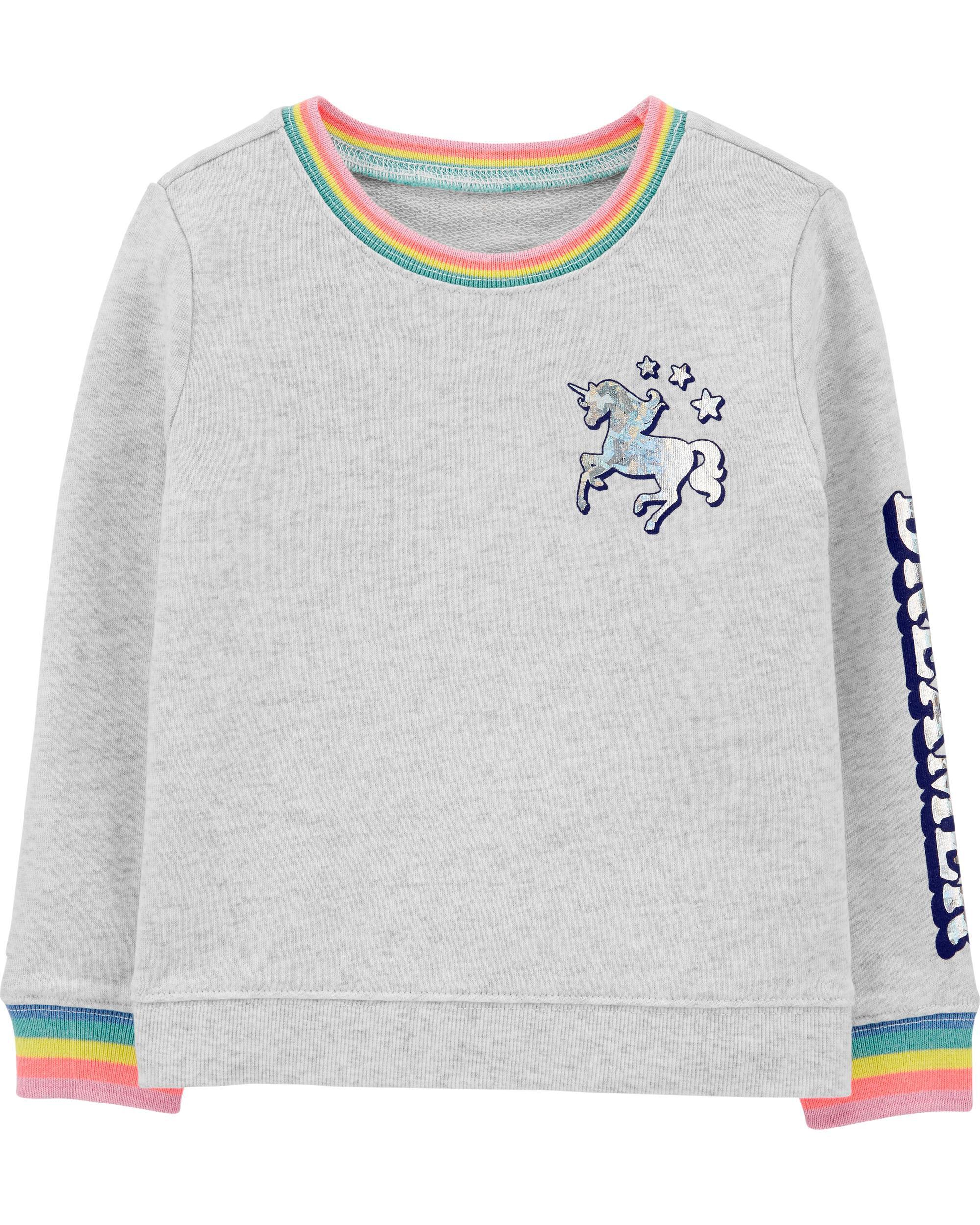 *Clearance*  Rainbow Unicorn Sweatshirt