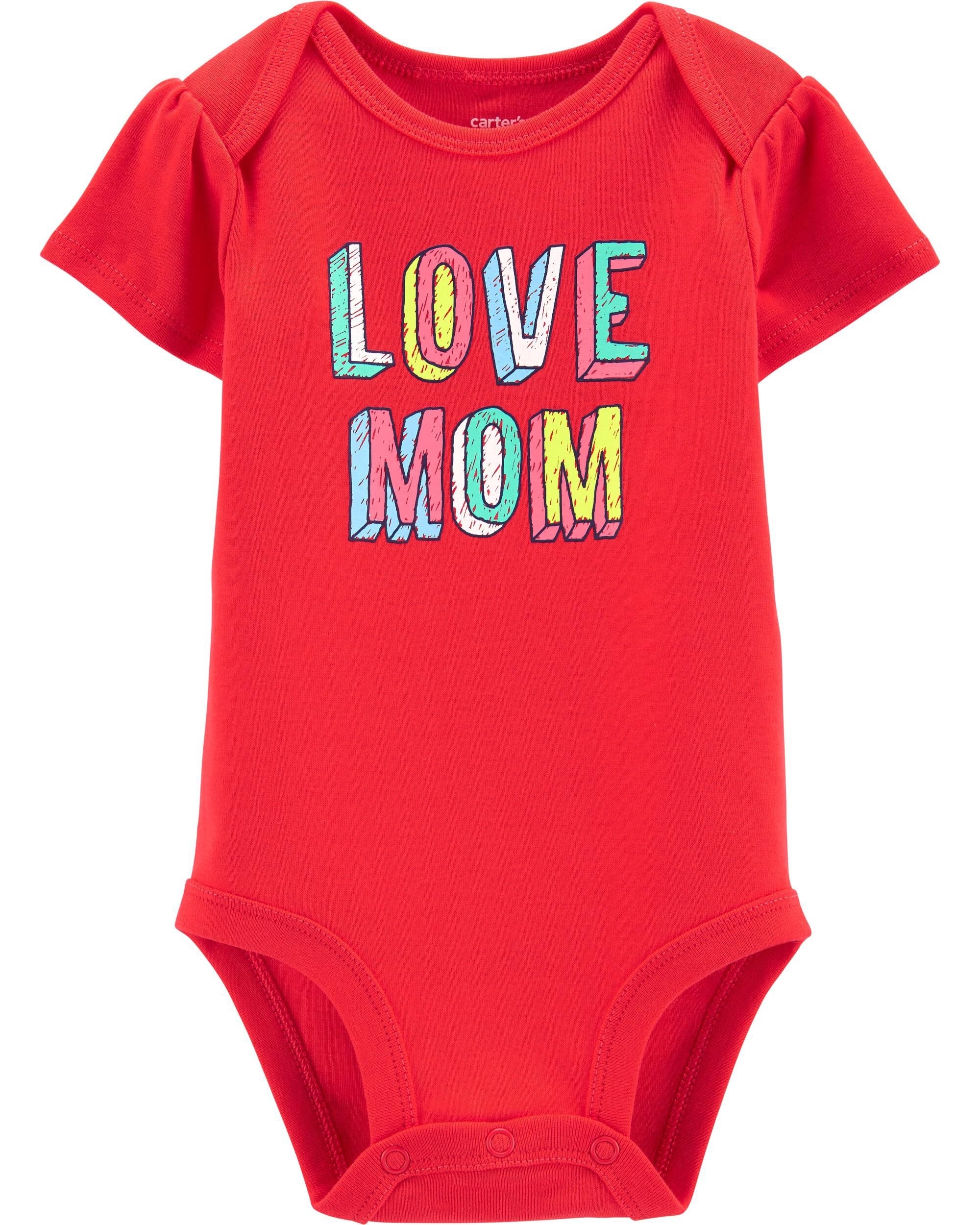*Clearance*  Love Mom Collectible Bodysuit