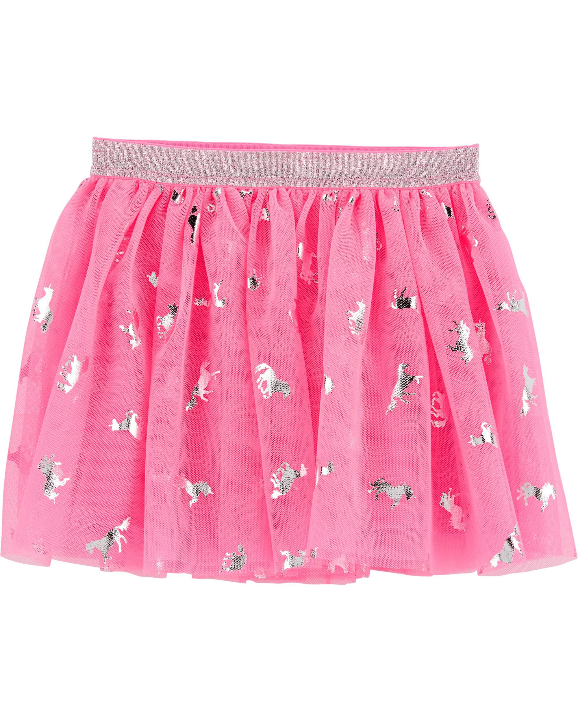 *Clearance*  Rainbow Unicorn Tulle Skirt