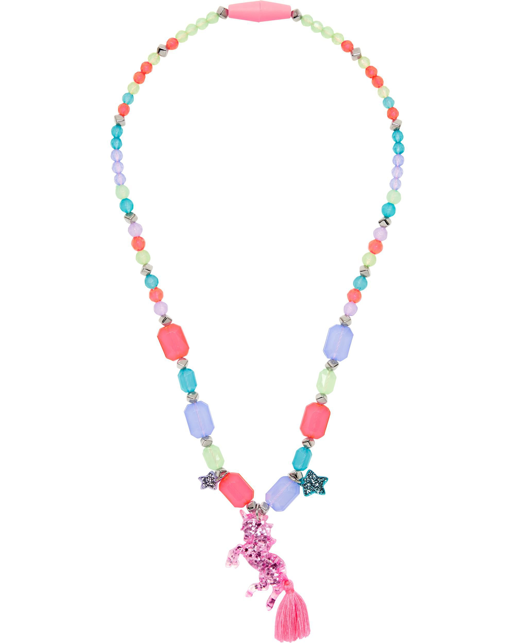 *Clearance*  Glitter Unicorn Necklace