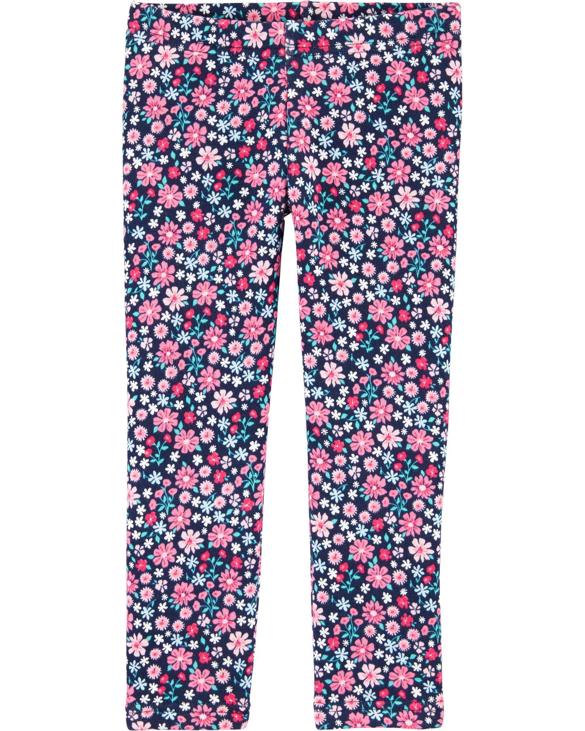*Clearance*  Floral Cozy Fleece Leggings