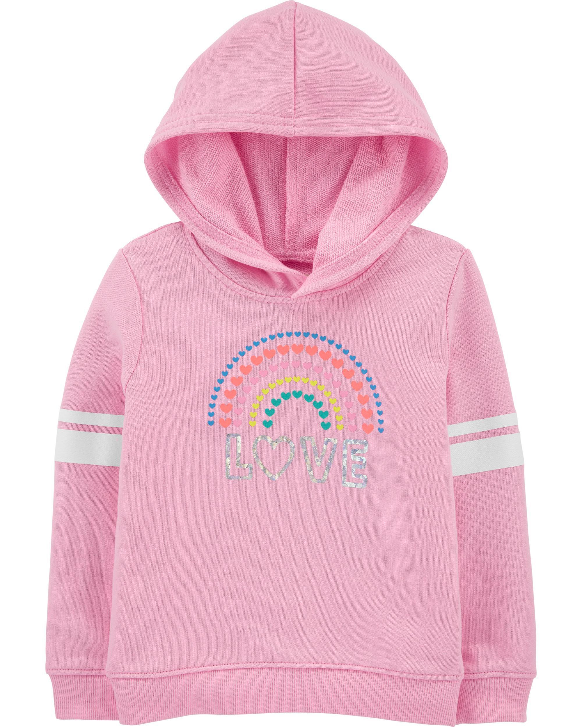 *Clearance*  Rainbow Love Hoodie